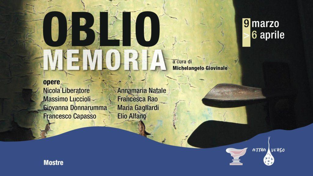 Giovanna Donnarumma partecipa a Oblio e la Memoria