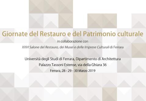 Le giornate del Restauro e del Patrimonio Culturale