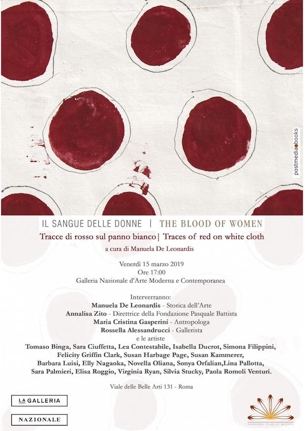 """Presentazione del libro """"Il sangue delle donne. Tracce di rosso sul panno bianco"""""""