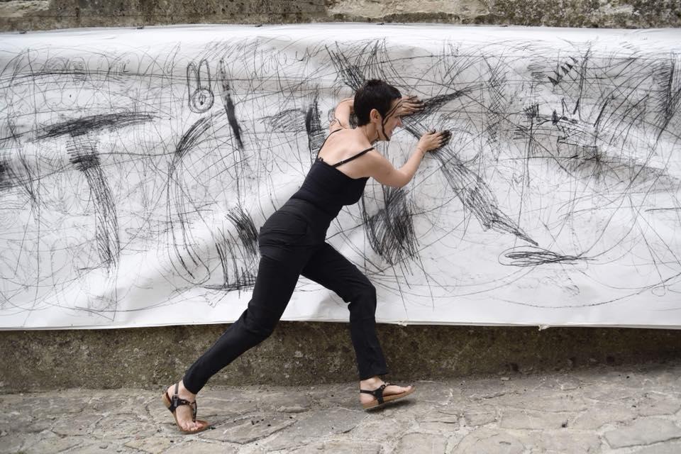 Regina Quesada al lavoro_Festival prima edizione 2018